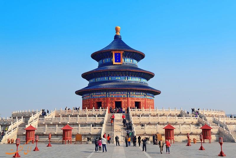 بنای بهشت در پکن