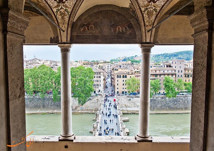 عکس قلعه سنت آنجلو در رم