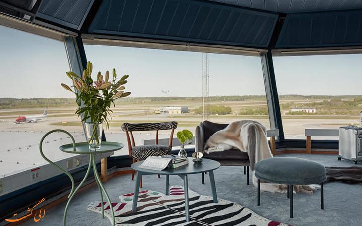 ساخت هتل آپارتمان در برج مراقبت فرودگاه آرلاندا استکهلم