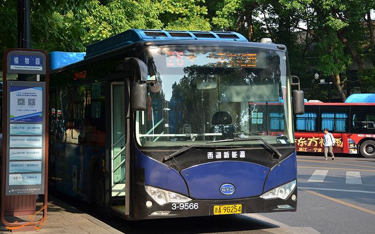 هزینه حمل و نقل در هانگزو