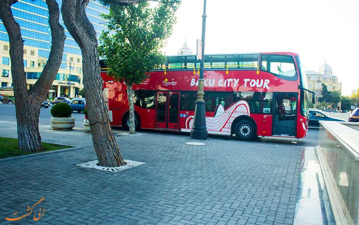 حمل و نقل در شهر باکو-بازدید از باکو