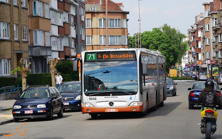 هزینه حمل و نقل در شهر بروکسل