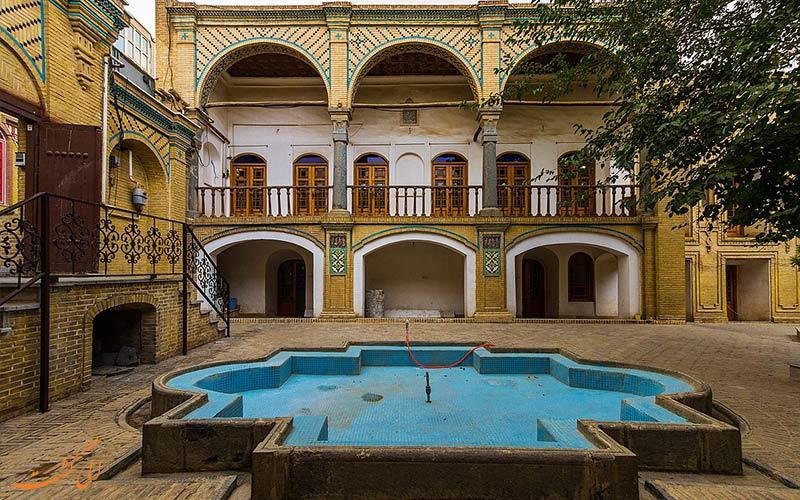 خانه حسن پور از جاهای دیدنی اراک