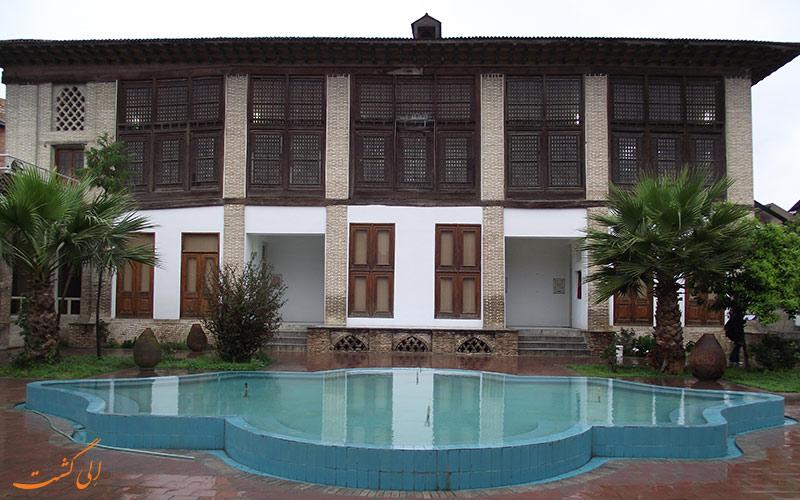 خانه کلبادی از جاهای دیدنی ساری