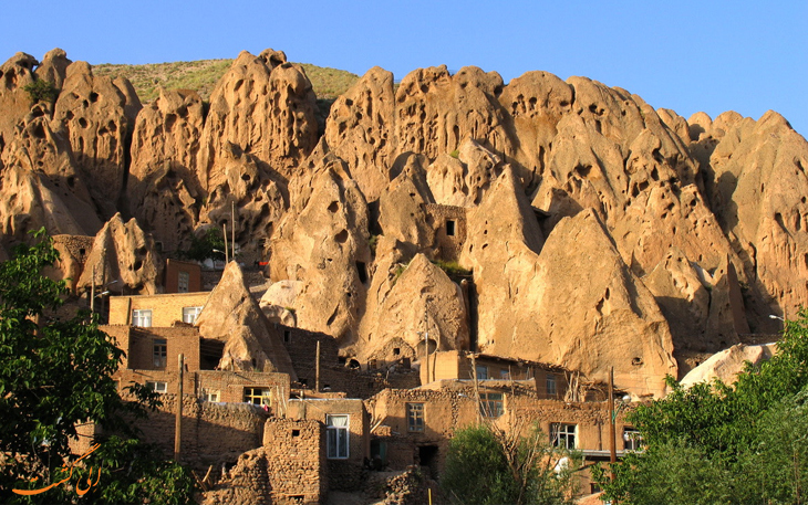 روستای کندوان، جاذبه های طبیعی تبریز