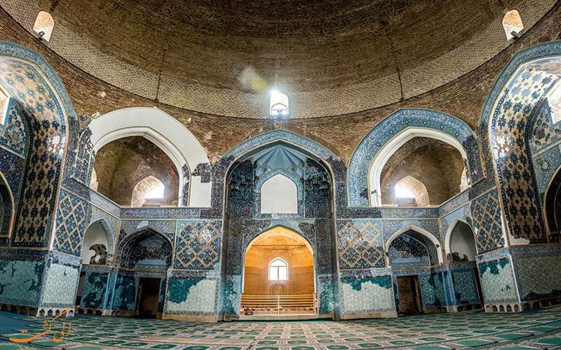 مسجد کبود یا مسجد جهانشاه، از دیدنیترین جاذبه های گردشگری تبریز