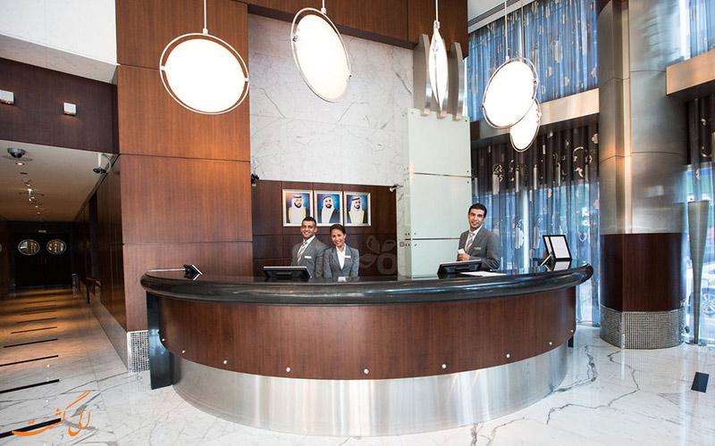 هتل رز ریحان بای روتانا دبی | پذیرش