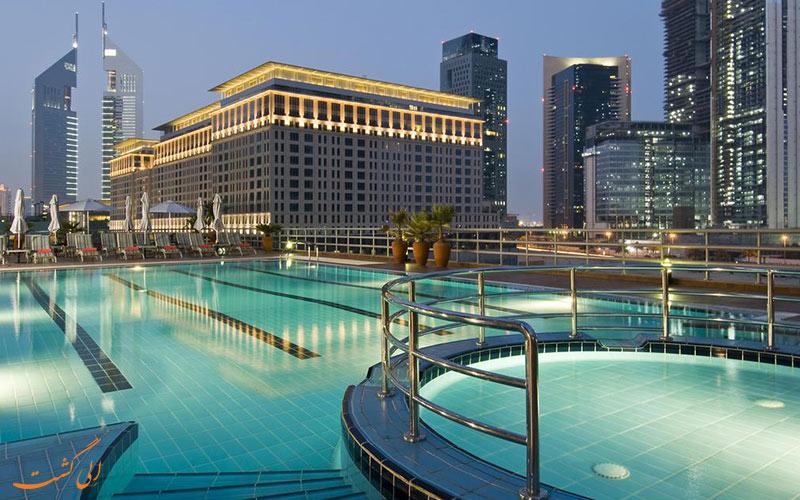 هتل رز ریحان بای روتانا دبی | استخر