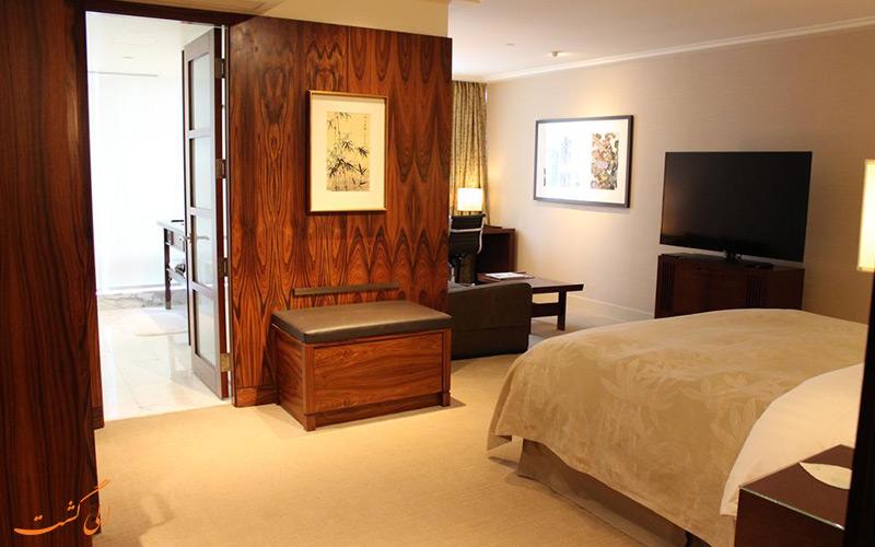 هتل شانگری لا ونکوور | نمونه اتاق
