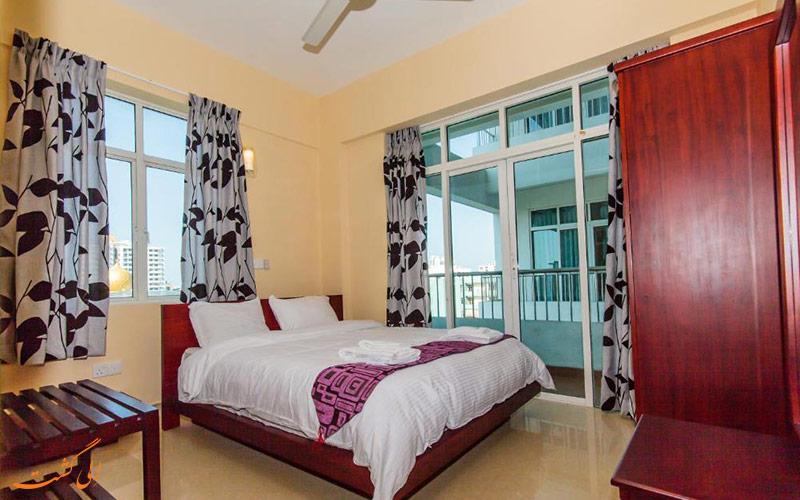 هتل سوپون آرکید رزیدنسی کلمبو | نمونه اتاق