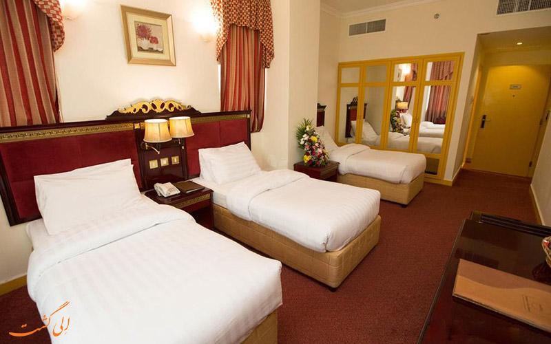 هتل کامفورت این دیره دبی   اتاق تریپل