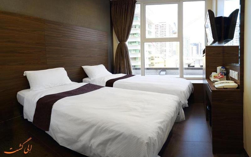 هتل ولیو تامسون سنگاپور | اتاق تویین