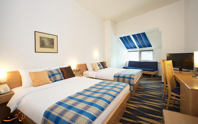 هتل نووتل سنتر مسکو   نمونه اتاق 2