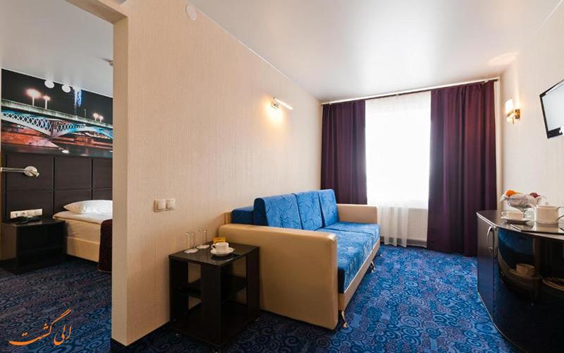 هتل اوختینسکایا سنت پترزبورگ   سوئیت
