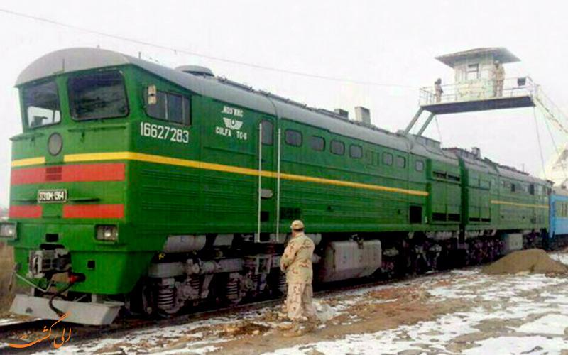 قطار مسافری نخجوان-مشهد
