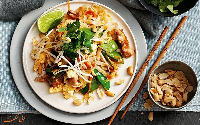 پد تای غذای محبوب تایلند
