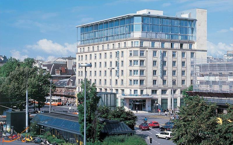 Hotel Cornavin Geneve- eligasht.com نمای هتل