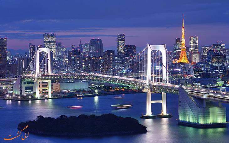 راهنمای مسافرتی به توکیو