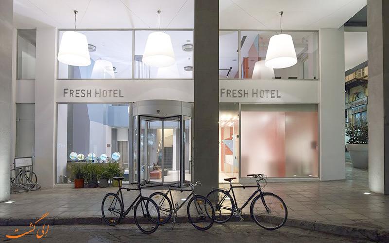 هتل فرش آتن- ورودی هتل