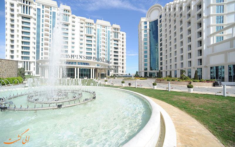 هتل پولمن باکو Pullman Baku Hotel- آبنمای هتل