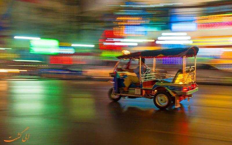 توک توک های بانکوک