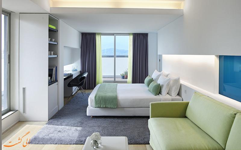 انواع اتاق های هتل فرش آتن