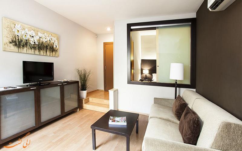 امکانات اتاق های هتل سناتور بارسلونا