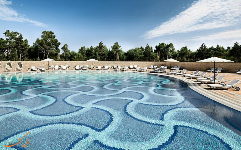 هتل بیلگاه بیچ باکو- استخر
