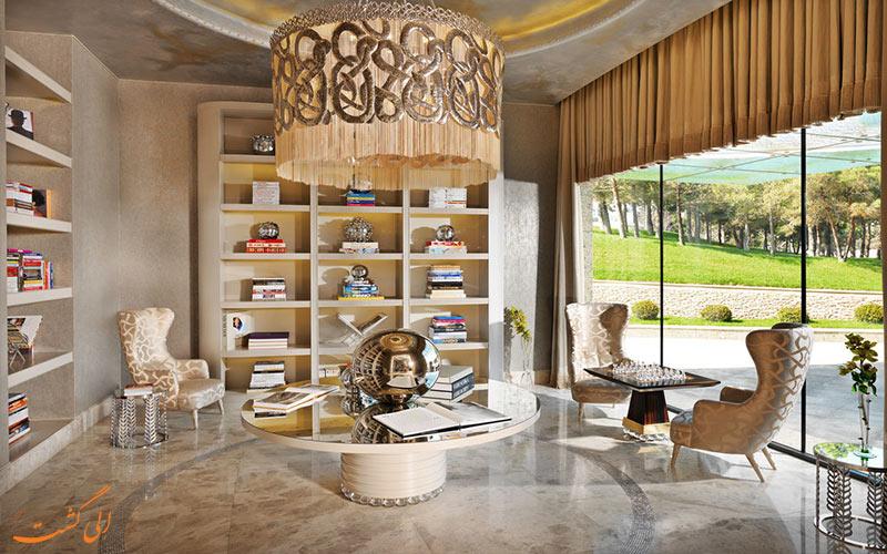 هتل بیلگاه بیچ باکو- کتابخانه