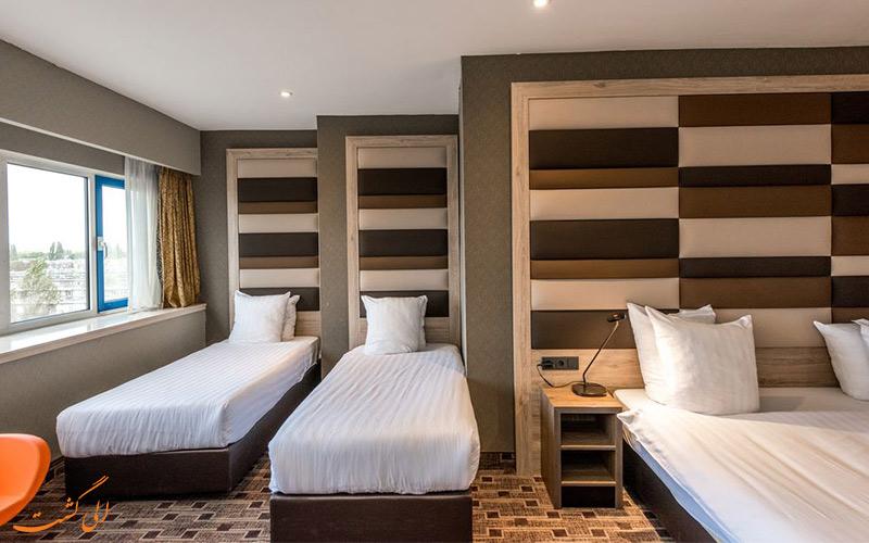 امکانات اتاق های هتل بست وسترن بلو تاور آمستردام