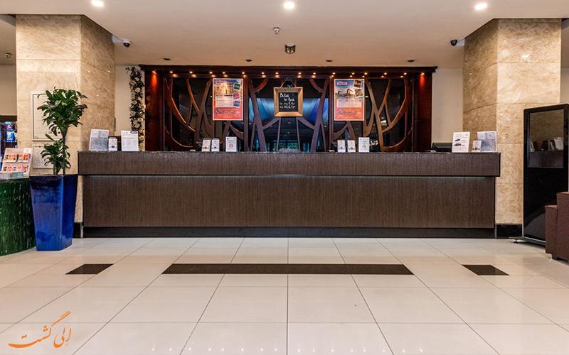 هتل بست وسترن بلو تاور آمستردام- پذیرش