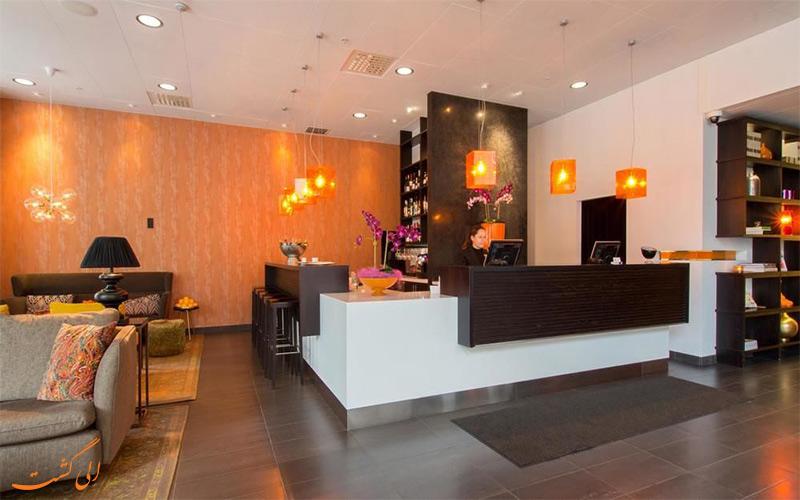 هتل بست وسترن پلاس تایم استکهلم - میز پذیرش