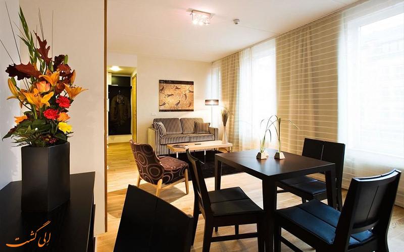 انواع اتاق های هتل بست وسترن پلاس تایم استکهلم