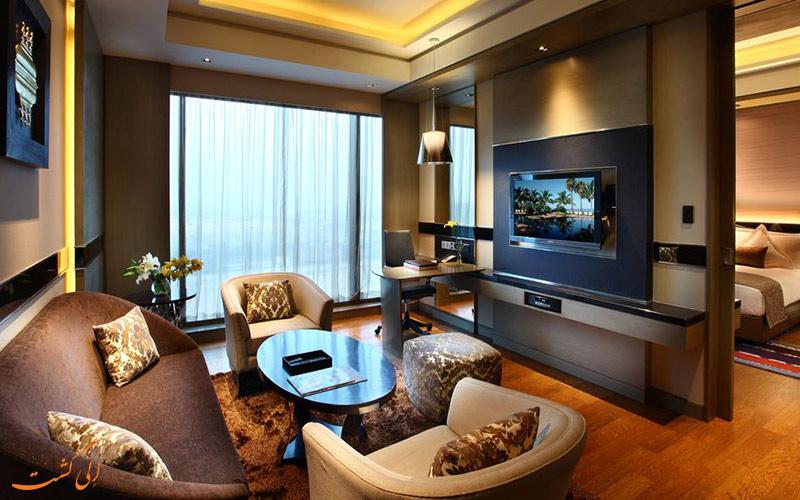 انواع اتاق در هتل کراون پلازا روهینی دهلی