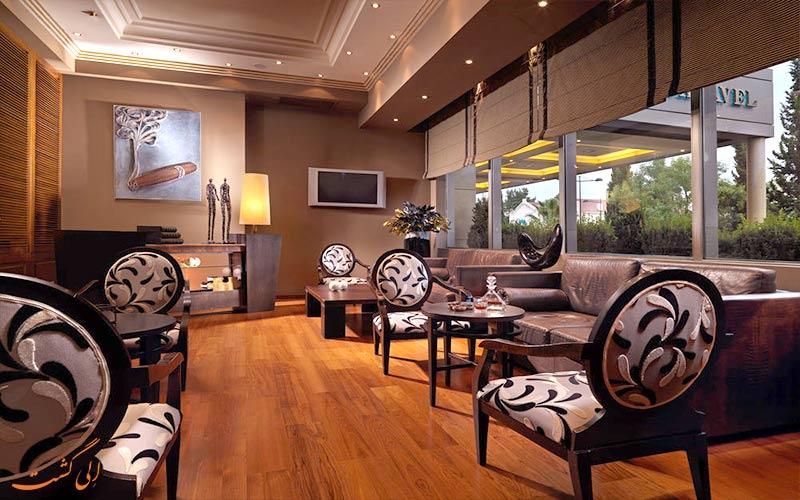 هتل دیوانی کاراول آتن- اتاق تلویزیون و لابی