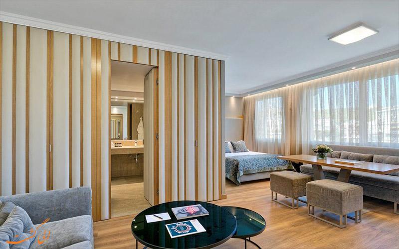 انواع اتاق های هتل دیوانی کاراول آتن
