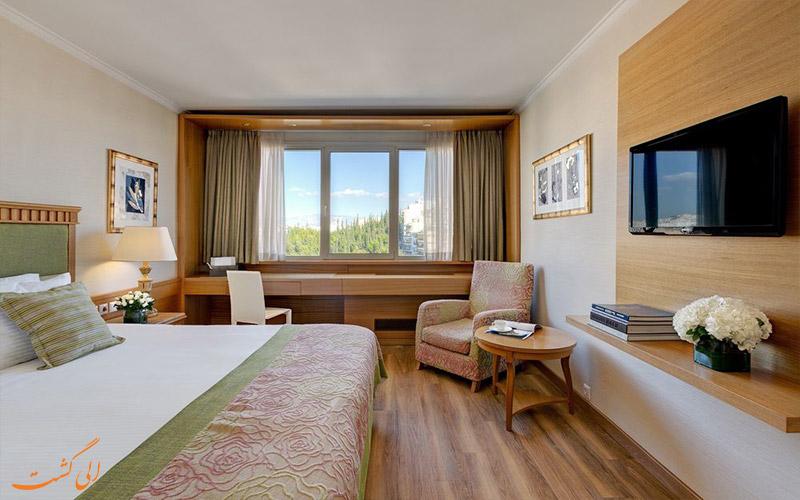اتاق های هتل دیوانی کاراول آتن