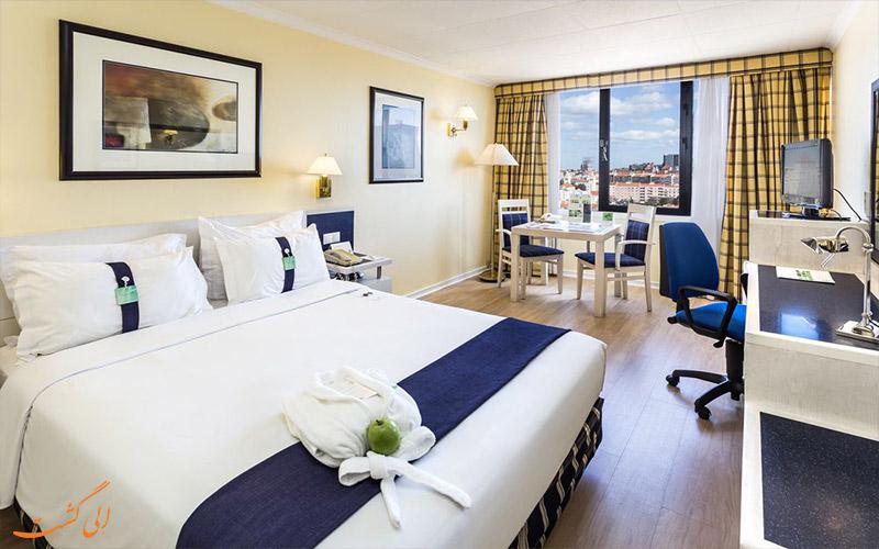 امکانات اتاق های هتل هالیدی این لیسبون