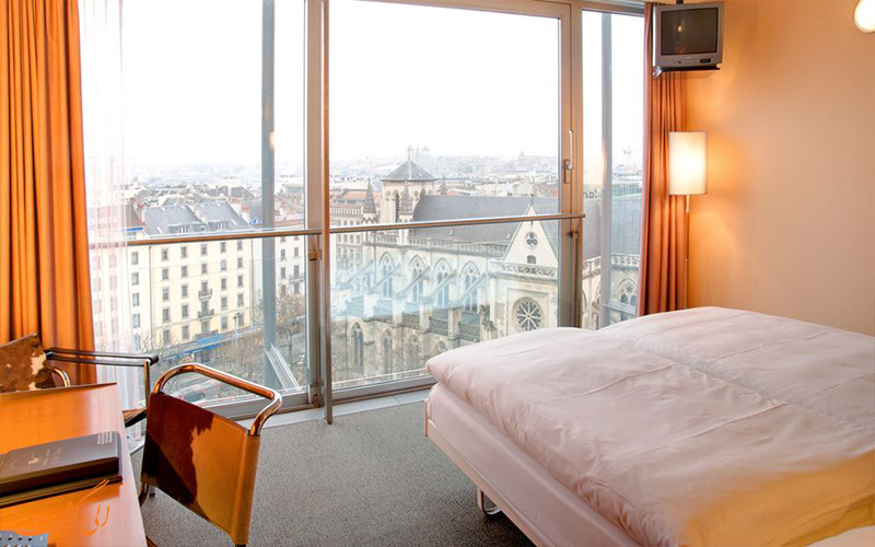 امکانات اتاق های هتل کورناوین ژنو