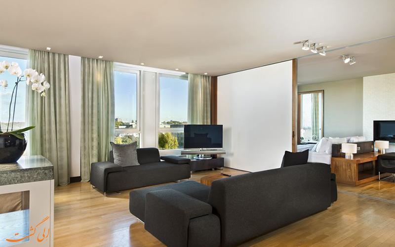 انواع اتاق های هتل اینترکنتینانتال برلین