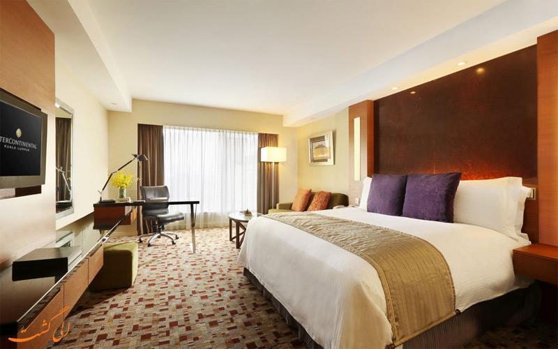 امکانات اتاق های هتل اینترکنتینانتال کوالالامپور
