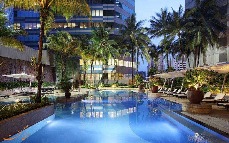 امکانات تفریحی هتل اینترکنتینانتال کوالالامپور- استخر