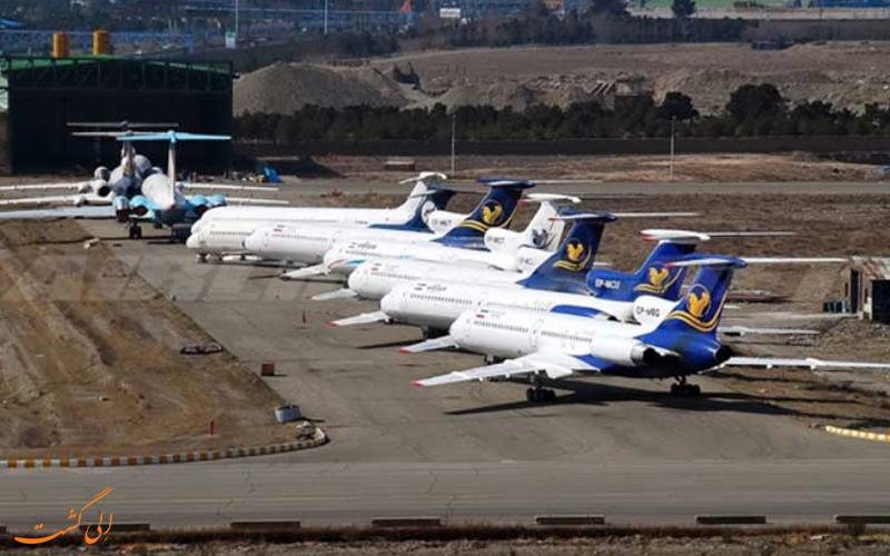 تاریخچه ی شرکت هواپیمایی ایران ایر تور