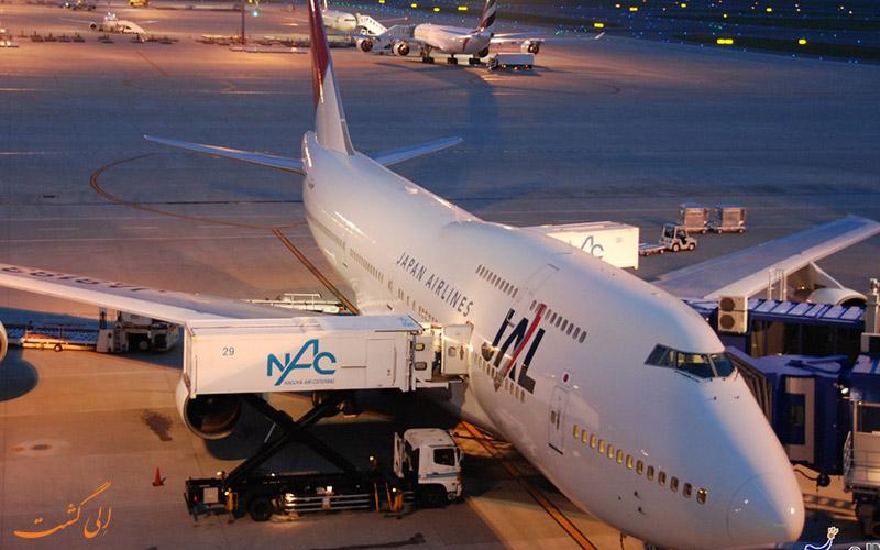 تاریخچه ی فرودگاه کوبه