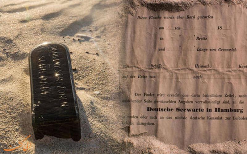 oldest-message-bottle-ross-mcdonald- پیام درون بطری