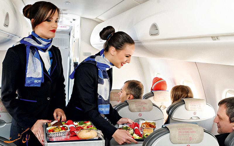 اطلاعات شرکت هواپیمایی مونته نگرو ایرلاینز
