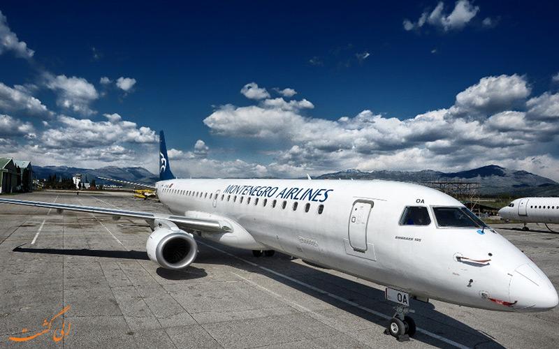 تاریخچه ی شرکت هواپیمایی مونته نگرو ایرلاینز