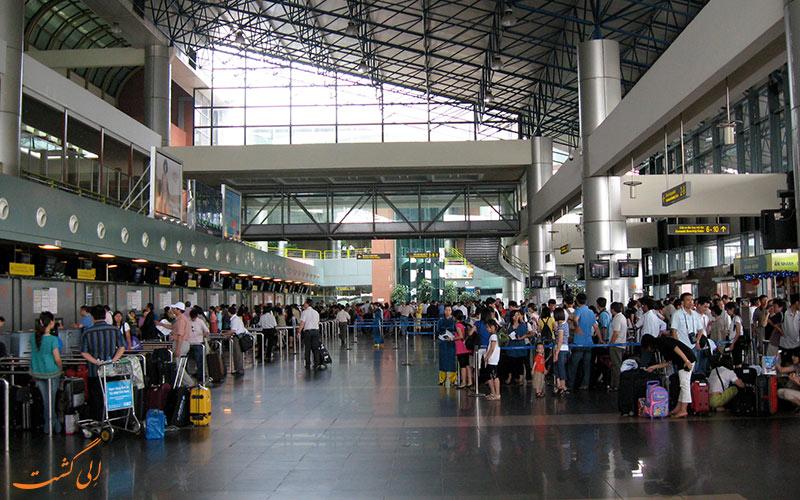 ترمینال های فرودگاه بین المللی هانوی
