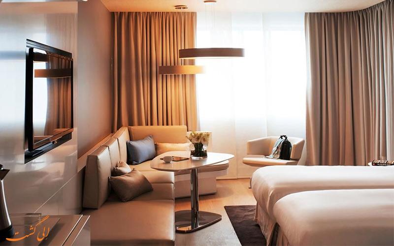 امکانات اتاق های هتل پولمن بروکسل