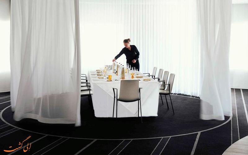 هتل پولمن بروکسل- رستوران